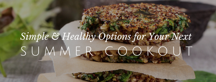 My Favorite Healthy Cookout Staples
